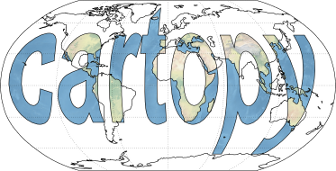 More advanced mapping with cartopy and matplotlib — cartopy
