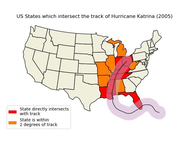 Hurricane Katrina — cartopy 0 16 0 documentation