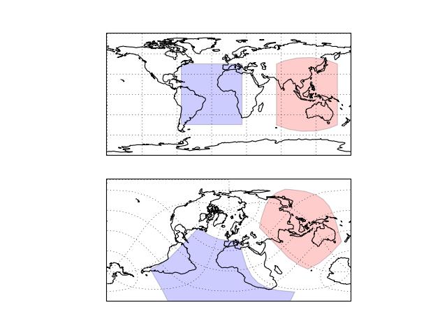 Drawing a geodetic polygon — cartopy 0 5 0 documentation